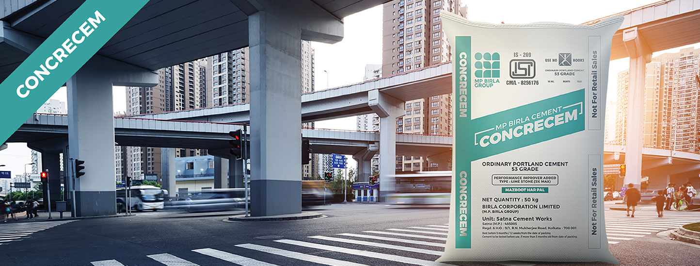 Mp Birla Cement Concrecem  Type Of Ordinary Portland Cement