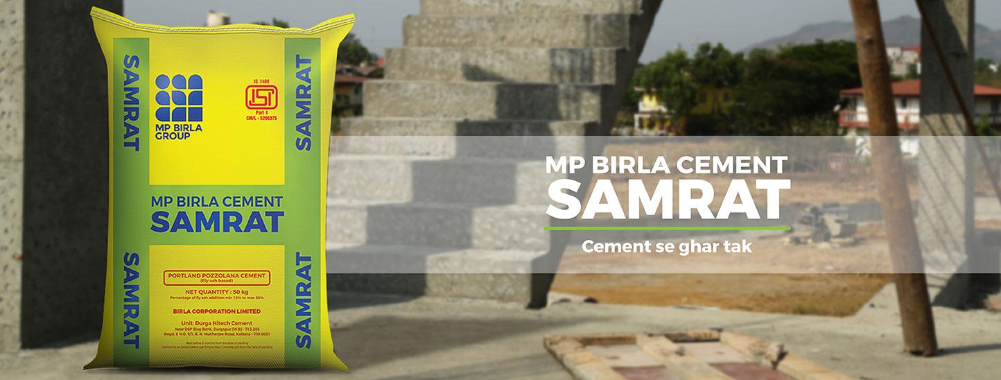 Mp Birla Cement Samrat Fly Ash Based Portland Pozzolana Cement