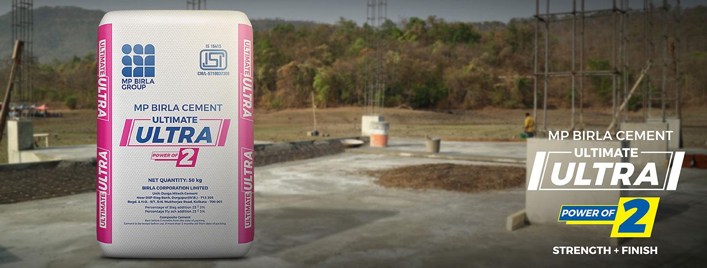 Mp Birla Cement Ultimate Ultra High-Quality Pozzolanic Cement